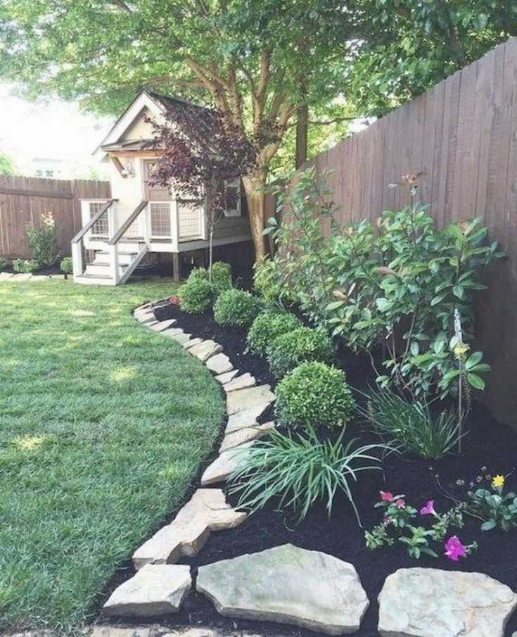 34 easy and low maintenance front yard landscaping ideas 6 ...