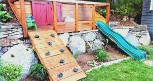 Ideen für abfallende Gärten, die den Hang zum Vorteil machen