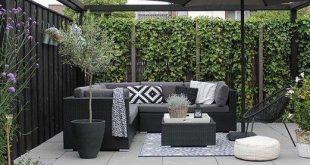 ✔ 56 schöne kleine Gartengestaltung für kleine Gartenideen 50 #gartengestal...
