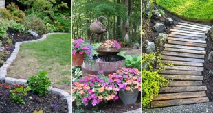 14 Smart Concepts of How to Make Backyard Easy Landscaping Ideas