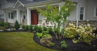 34 Ideas for simple landscape ideas front yard curb appeal mulches