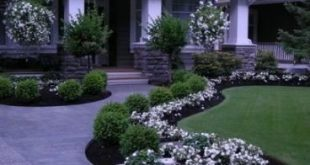 43+ Trendy Ideas House Front Landscaping Curb Appeal Pathways