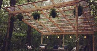 48 Hinterhof Veranda Ideen auf einem Budget Terrasse Makeover Außenräume am besten gefällt mir dieses offene Layout wie die Pergola über dem Tisch Grill 45