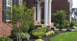 51 simple and small front yard landscaping ideas for low maintenance 16