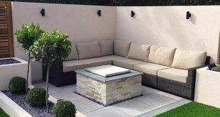 Fabelhafte zeitgenössische Hinterhof-Patio-Ideen 07 #fabelhafte #hinterhof #id...