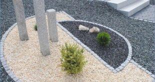 Gartengestaltung mit Kiesbildern