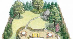 HWBDO11020 - Landscape Plan from BuilderHousePlans...