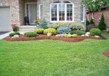 Low maintenance landscape front yard curb appeal pathways 28+ ideas